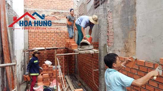 Xây nhà mới Anh Bình – 745 Thống Nhất, Q. Gò Vấp
