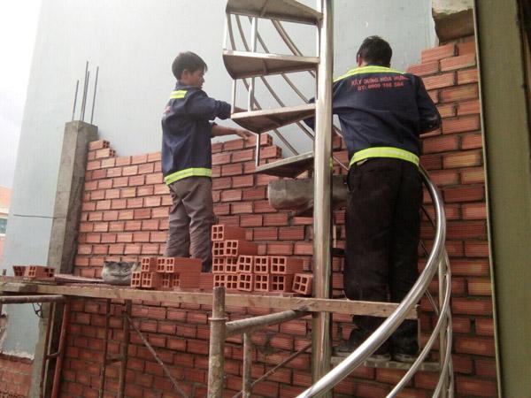 Cải tạo nhà, nâng tầng đúc giả Huyện Hóc Môn