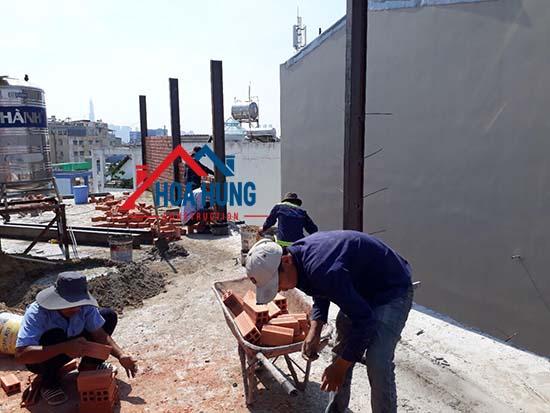 Dịch vụ sửa chữa nhà nâng tầng đúc giả