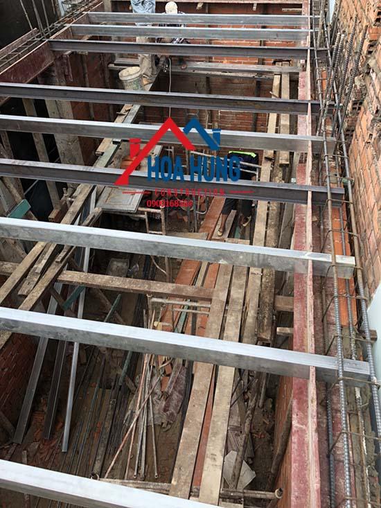 Sửa nhà nâng thêm tầng bằng vật liệu gì