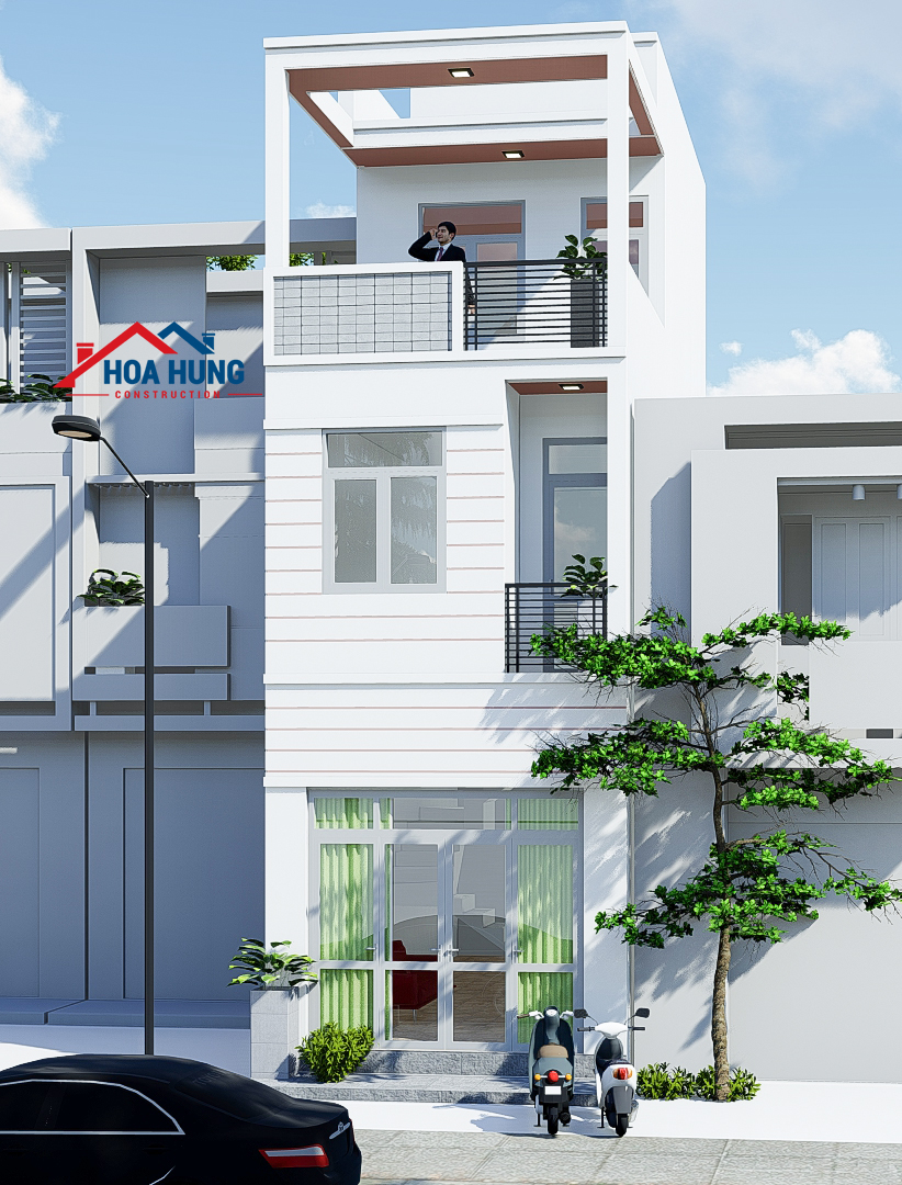 Xây dựng nhà 3 tầng tại Q 6