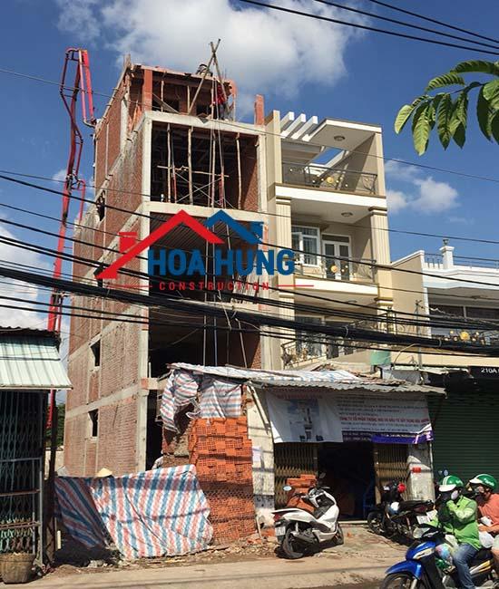 xây dựng nhà có tầng lửng