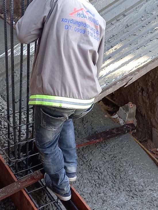 Gia cố móng nâng tầng nhà tại Quận Tân Bình
