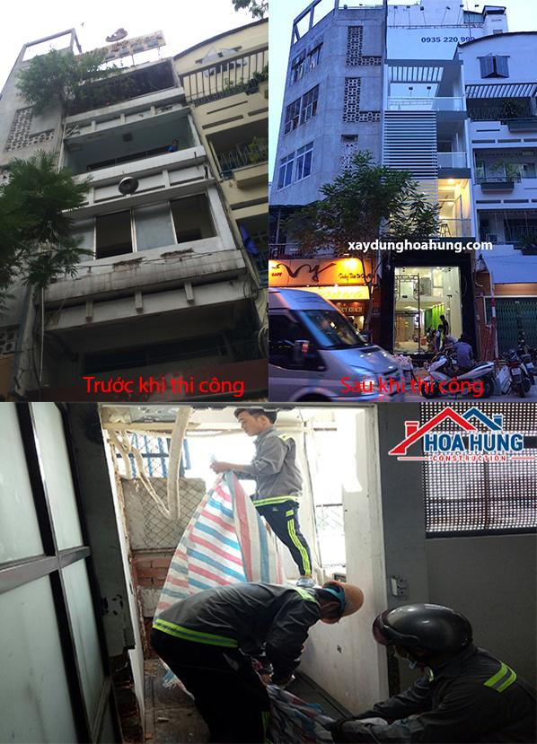 Bảng báo giá sửa chữa nhà ở trọn gói tại khu vực TPHCM