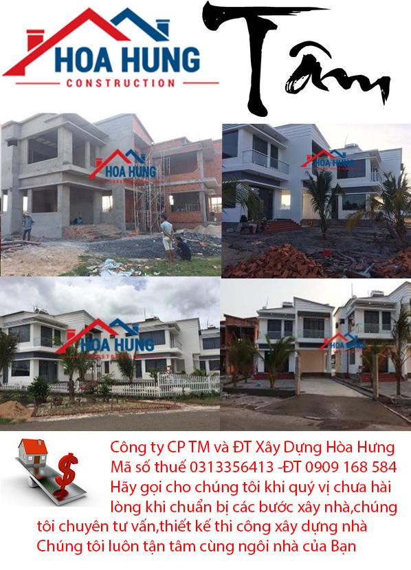 xây nhà tại Bà Rịa Vũng Tàu