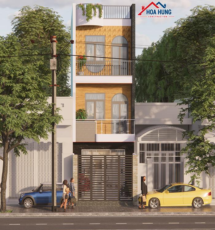 Xây nhà 3 tầng Quận 12